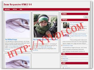 Download Template Responsive HTML5 V.4