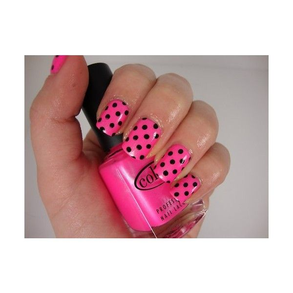 17+ Best Ideas About Pink Black Nails On Pinterest