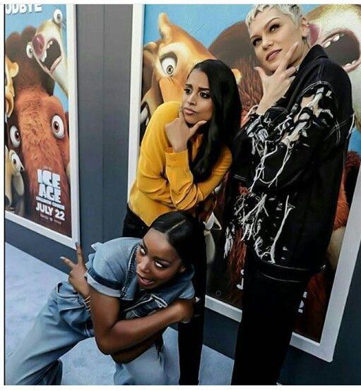 Jessie J w/ Keke Palmer & iiSuperwomanii