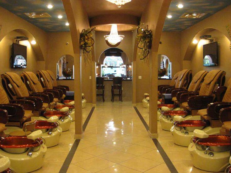 Nail Spa Salon Interior Design