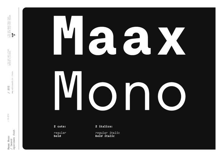 MaaxMono