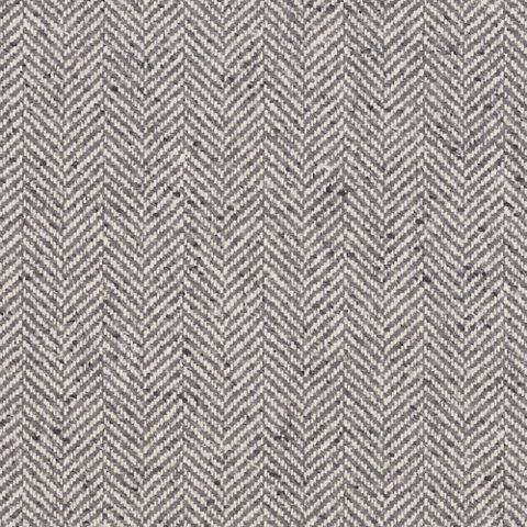 Stoneleigh Herringbone - Grey Flannel - Fairfield Plaids - Fabric - Products - Ralph Lauren Home - RalphLaurenHome.com
