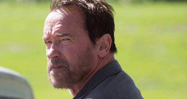 Arnold Schwarzenegger protects his daughter from a zombie horde in a new clip from his indie thriller 'Maggie', in theaters May 8th.