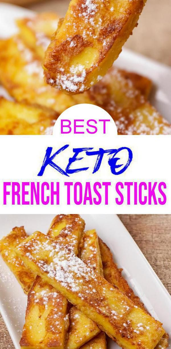 Best Keto French Toast Sticks Low Carb Keto French Toast Recipe