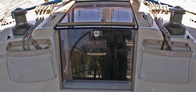 cockpit sheet and halyard bag for boats