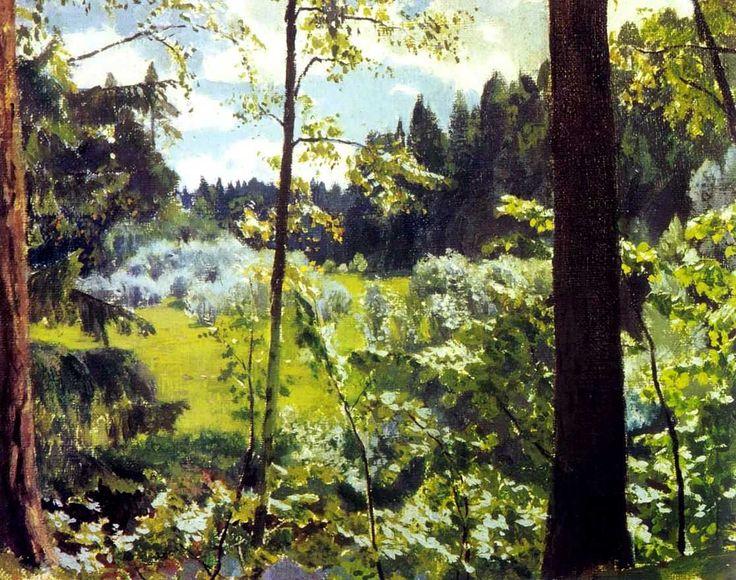 Rylov Arkady Alexandrovich (1870-1939)  Green Lace