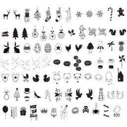 Lightbox Symbolen set/symbol set - Celebrations
