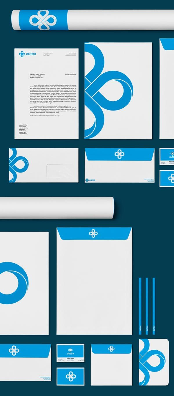 Autea - Corporate Identity by Michał Markiewicz