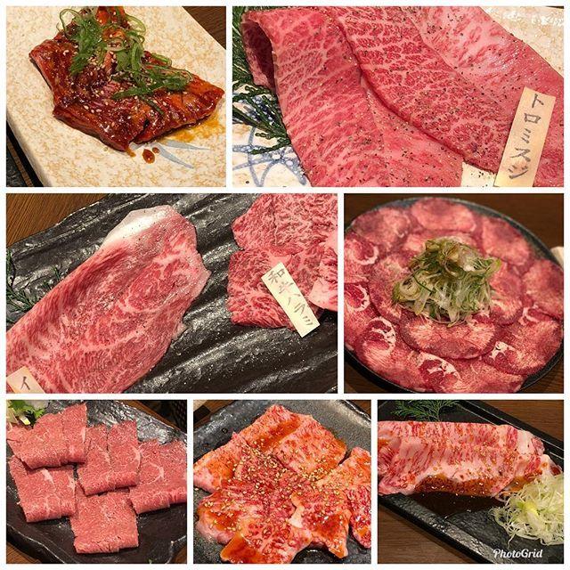#肉 #和牛 #薩摩焼肉黒桜 #誕生日 今日はお祝いしてもらいました
