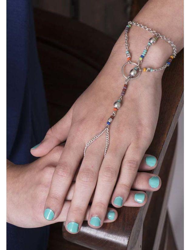 Vasha Hand Bracelet