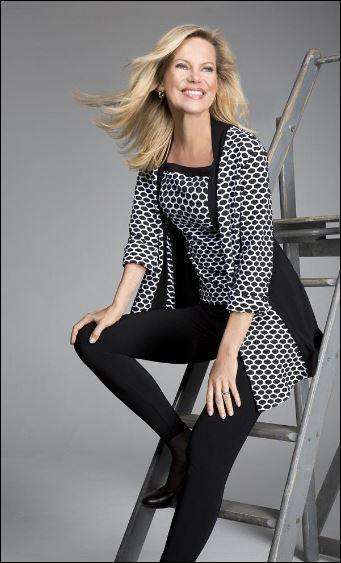 Nina Ruge has been appointed fashion ambassador for Joseph Ribkoff. #ninaruge #josephribkoff #josephribkoff #josephribkoff