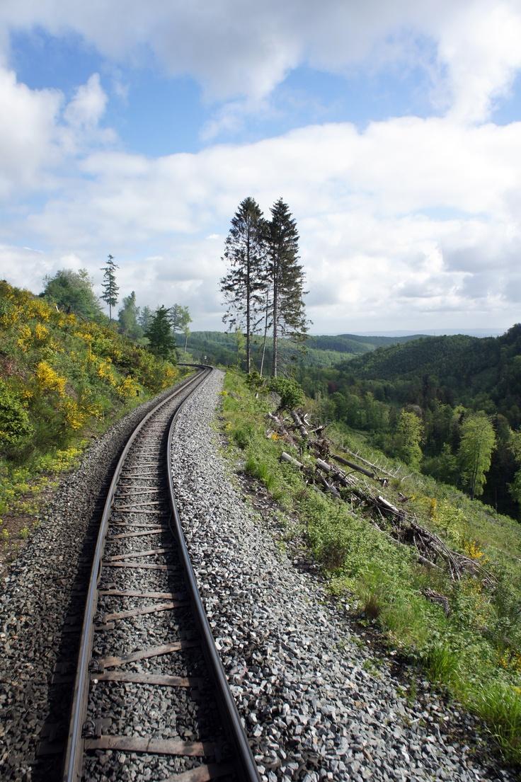 Brocken (Sachsen-Anhalt) - Harzer Schmallspurbahnen (HSB)