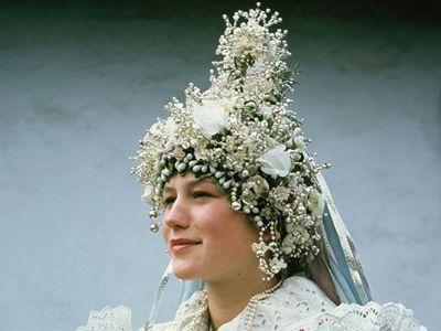 Tekov bride (Slovakia)