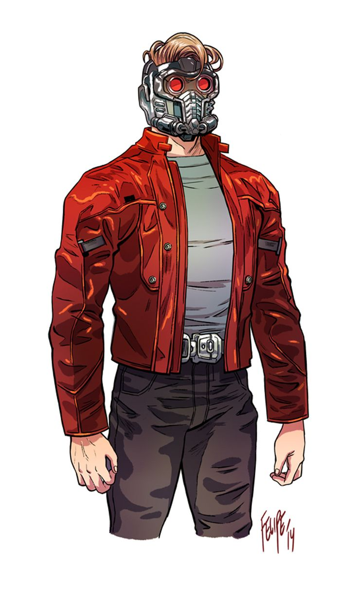 Can't find any pics from when Gamora took up the Star-Lord costume, buuuut... A Lady Quill would be cool to do (and easy).  Peter Quill by Felipe Smith