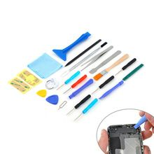 2016 New Hot Sale 22 in 1 Portable Open Pry mobile Phone Repair Screwdrivers Sucker Hand Tools Set Kit For Cell Phone Tablet