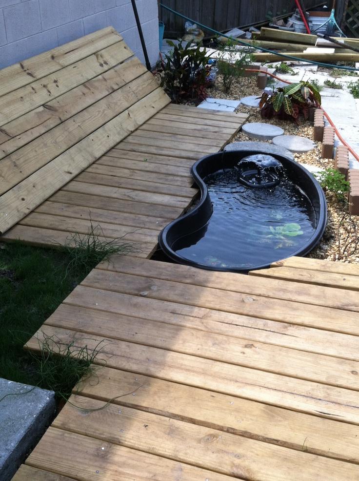 My koi pond set up backyard pinterest koi ponds for Koi pond setup