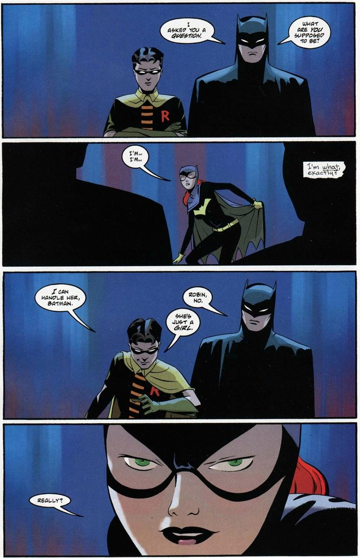 Barbara Gordon was my favourite Batgirl.