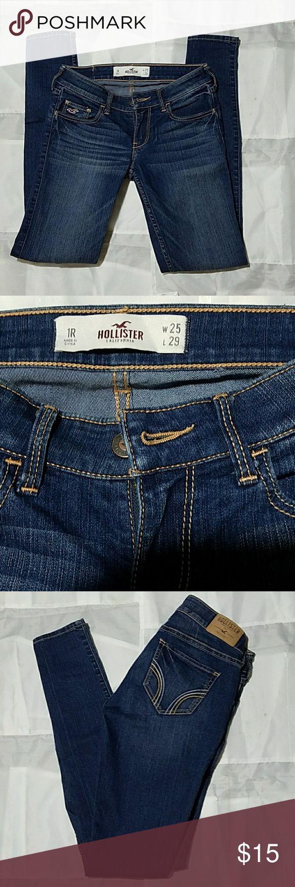 Hollister jeans size 25/1R skinny Hollister skinny jeans size 25/1R Hollister Jeans Skinny