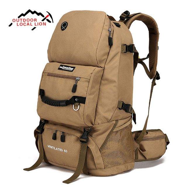 We love it and we know you also love it as well LOCAL LION 60L Outdoor Men Women Trekking Hiking bag Backpack Trip Travel Luggage Shoulders Bag For Camping Hiking Climbing just only $41.03 with free shipping worldwide  #sportsbags Plese click on picture to see our special price for you