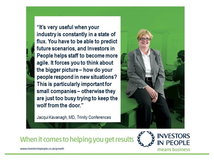 Investors in People & Trinity Conferences