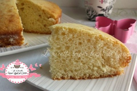 Torta light allo yogurt (98 calorie a fetta)