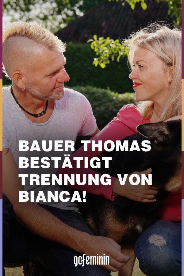 Bauer Sucht Frau Thomas Bestatigt Trennung Von Bianca Frau Offene Beziehung Trennung