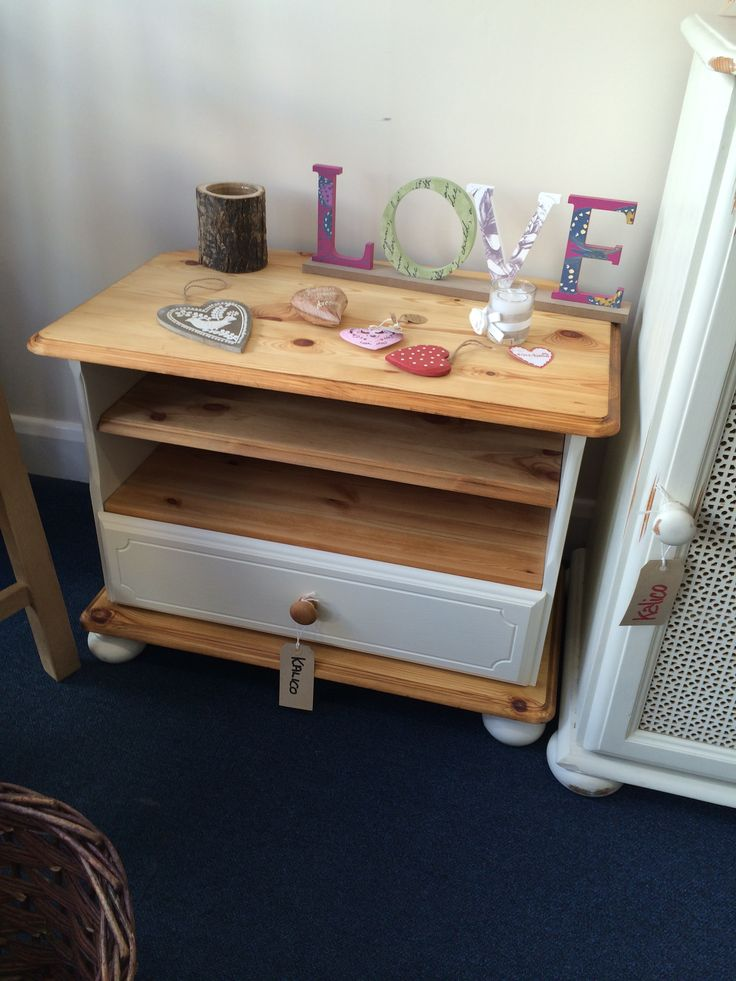 Lovely restored and re painted TV cabinet
