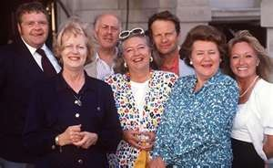 Keeping Up Appearances - Patricia Routledge, Clive Swift, Geoffrey Hughes and Judy Cornwell