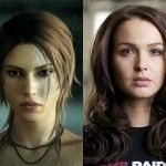 Camilla Luddington is the Lara Croft in Tomb Raider 2013. See the video interview: http://www.videogamesblogger.com/2013/04/03/tomb-raider-2013-cosplay.htm
