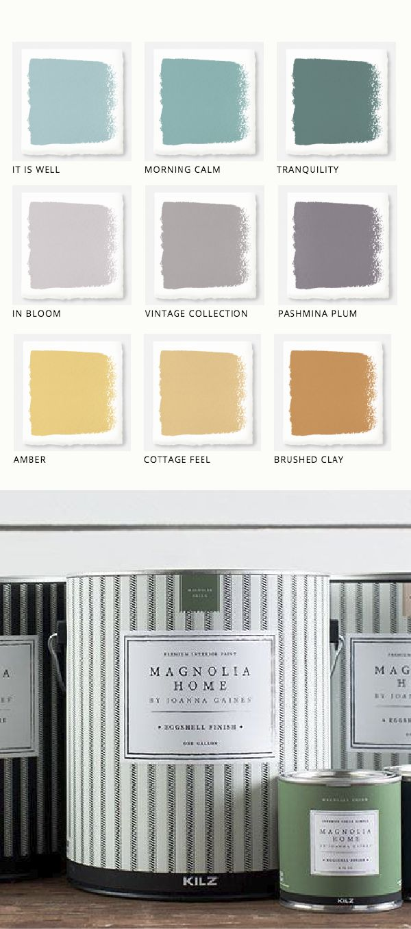 This collection of Magnolia Home Paint from design…