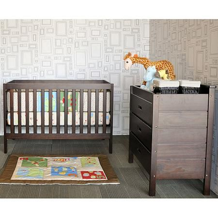 Baby Mod - Modena 3-in-1 Fixed Side Crib (Choose Your Finish) - Walmart.com