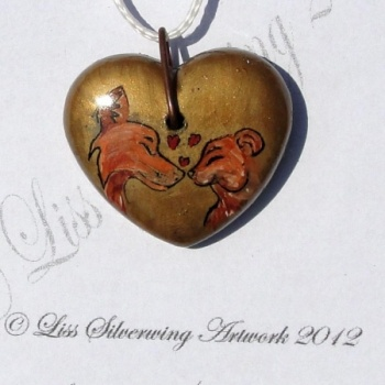 I checked out Kissing Foxes Heart on Lish, € 21,00