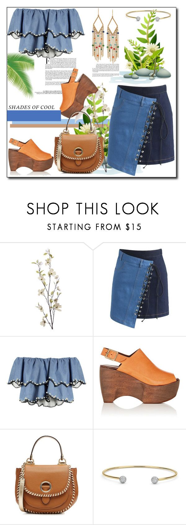 """""""Shades of Cool this Holiday Weekend"""" by helenaymangual ❤ liked on Polyvore featuring Pier 1 Imports, Chicwish, HUISHAN ZHANG, Simon Miller, MICHAEL Michael Kors and Ralph Lauren"""