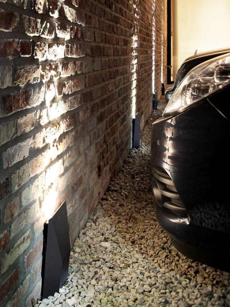 lampes extérieures de design épuré plat à fixer au mur Armor Rotogroup by Modular