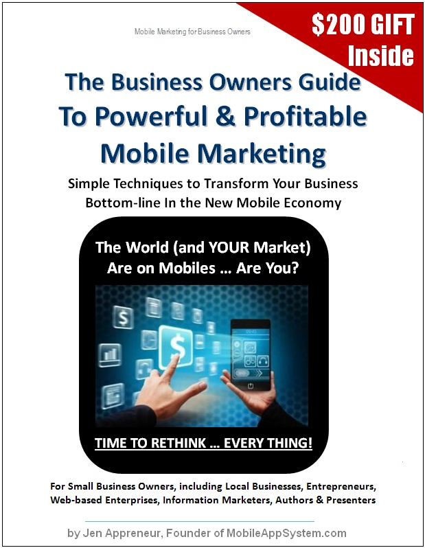 Mobile App System Book - Mobile Marketing, The New Economy