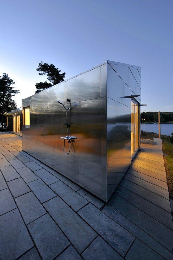 The Aluminum Cabin / JVA