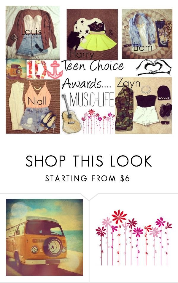 """""""Teen Choice Awards with..."""" by kennedey-lynn-freeman ❤ liked on Polyvore featuring Retrò, DOMESTIC and Billabong"""