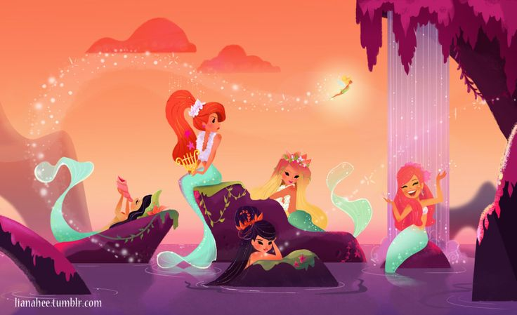 Mermaid Lagoon. My favorite piece by Liana Hee.