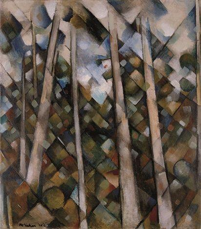 Kauri Trees, Titirangi by Colin McCahon