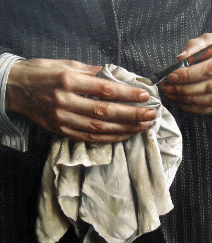 Self portrait (detail),1936.Carel Willink.