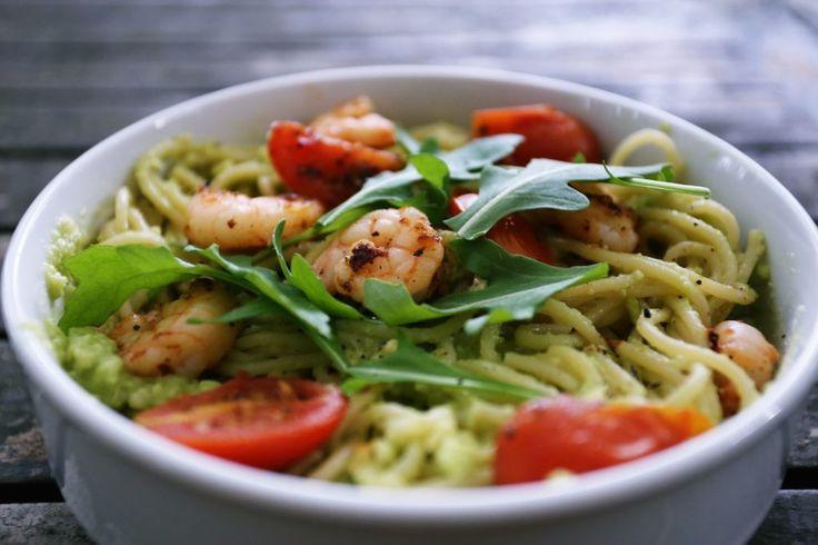 Spaghetti mit Avocadosauce