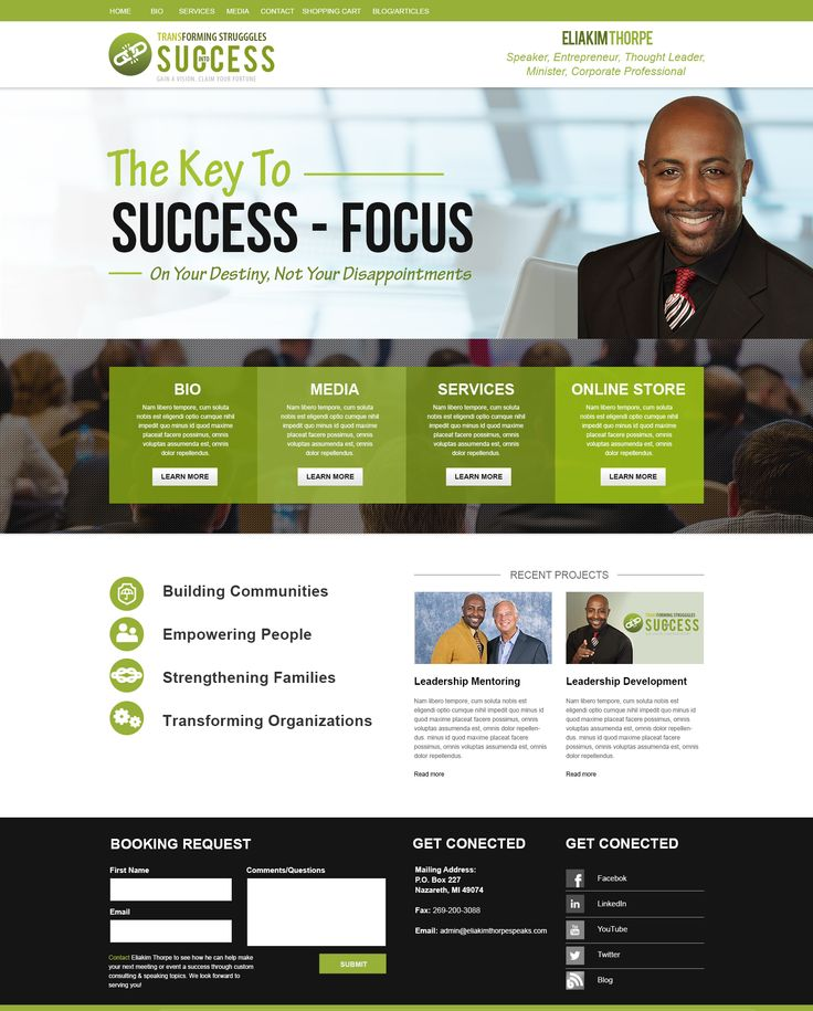 17 Best Images About Public Speaker Website Design On