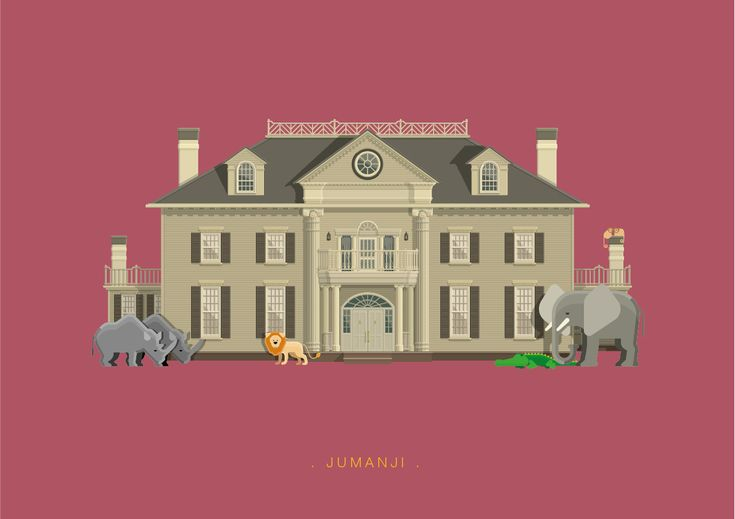 Frederico Birchal, Jumanji, Famous Movies & TV Shows Setting, 2015