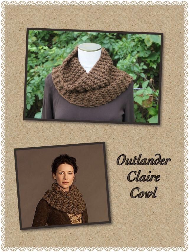 Finished my second Clair Cowl like the one in the series Outlander. I like this one better than the first one I made. The color and proportions are better.