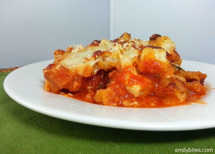 Chicken Parmesan Casserole - Emily Bites
