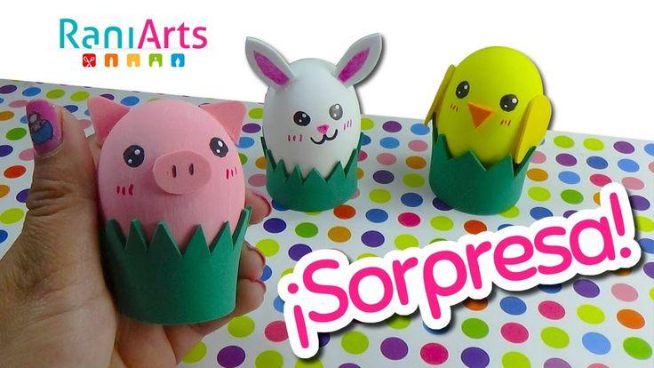 DIY - Huevitos Sorpresa! - Surprise Eggs!