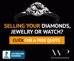 Sell your Diamonds. ======================= We buy diamonds, designer jewelry and luxury watches directly from the public.  With offices in the USA, UK and Spain, we are a trusted global leader in the diamond and jewelry resale market with an A rating from the Better Business Bureau. A faster and safer way to sell online for the best possible prices, customers can sell their designer jewelry, watches and diamonds of all shapes, sizes and qualities online or via appointment.