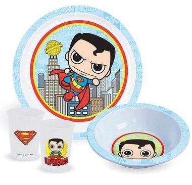 SUPERMAN KID'S DINNER SET