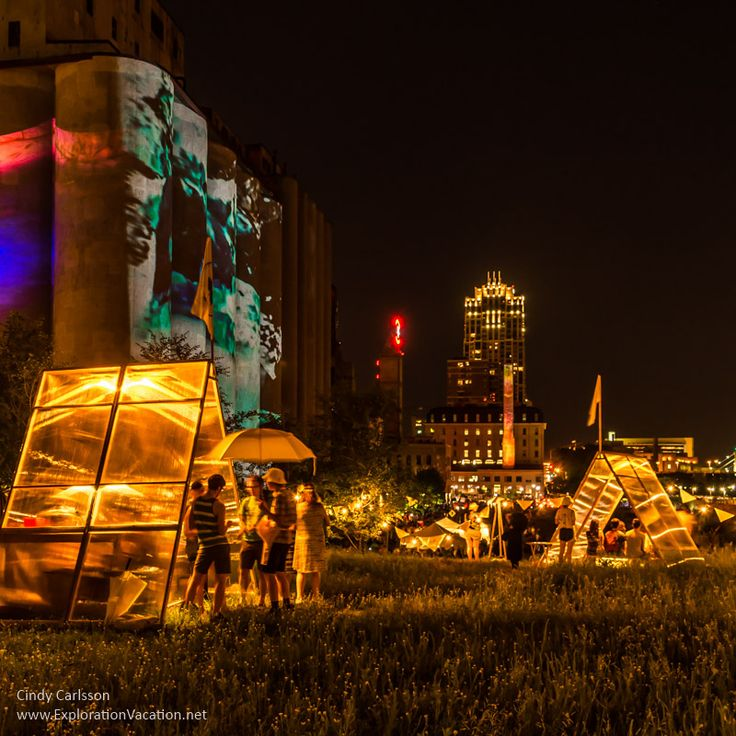 Dandelion at Northern Spark in Minneapolis, Minnesota -  http://explorationvacation.net/2016/06/lighting-up-northern-spark-minneapolis/