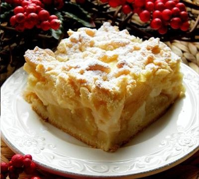 Polish+Apple+Cake+Szarlotka The Polish version of apple pie is known ...